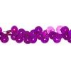 Sequin Stretch 1Row Hologram mauve/ Purple